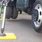 Hi-Viz Outrigger Pad for Van Mounted Platform