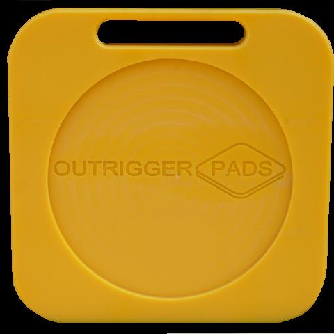 300 x 300 x 30mm Hi-Viz Outrigger Pad IP-72045
