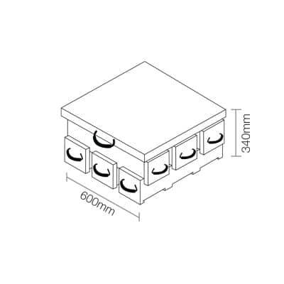 ECOCRIB 2-Crib Kit 6