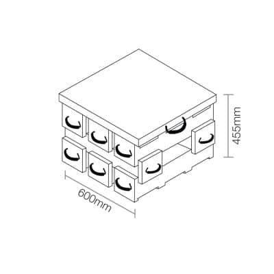 ECOCRIB 2-Crib Kit 8