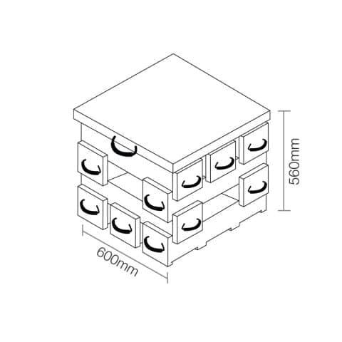 ECOCRIB 2-Crib Kit 10