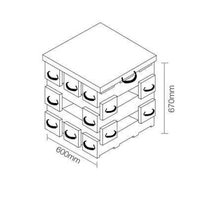 ECOCRIB 2-Crib Kit 12