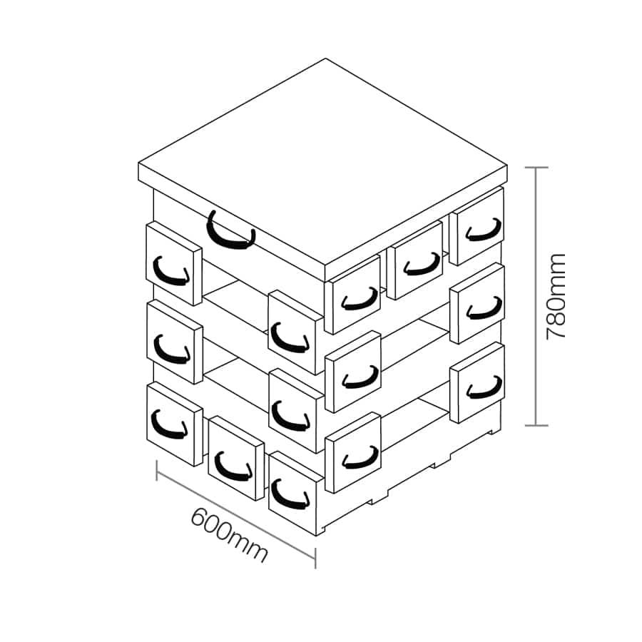 ECOCRIB 2-Crib Kit 14
