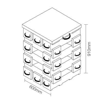 ECOCRIB 2-Crib Kit 16