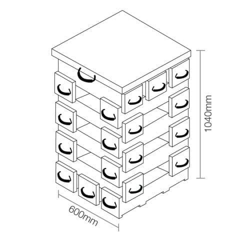 ECOCRIB 2-Crib Kit 18