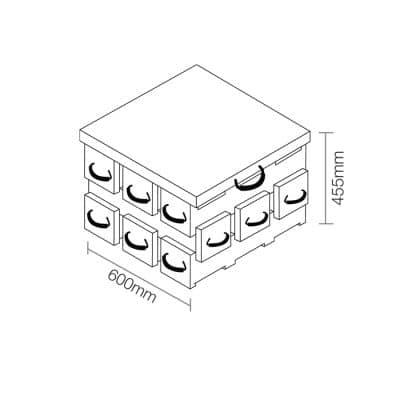 ECOCRIB 3-Crib Kit 8