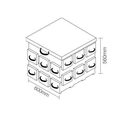 ECOCRIB 3-Crib Kit 12