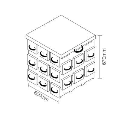ECOCRIB 3-Crib Kit 15