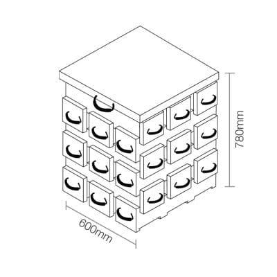 ECOCRIB 3-Crib Kit 18
