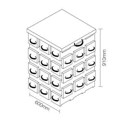 ECOCRIB 3-Crib Kit 21