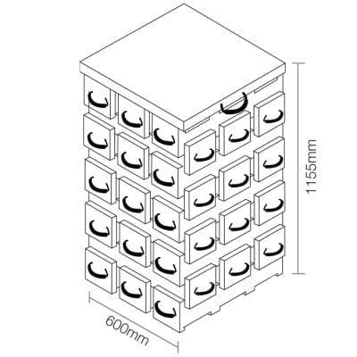 ECOCRIB 3-Crib Kit 27
