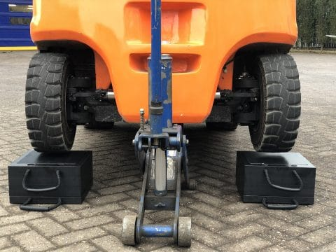 ECOSTAK Jacking Block Forklift Truck
