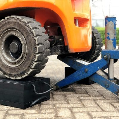 ECOSTAK Jacking Blocks Forklift Truck