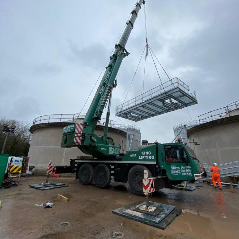Multi Mat System Crane Pad, Notus Contract Lifting