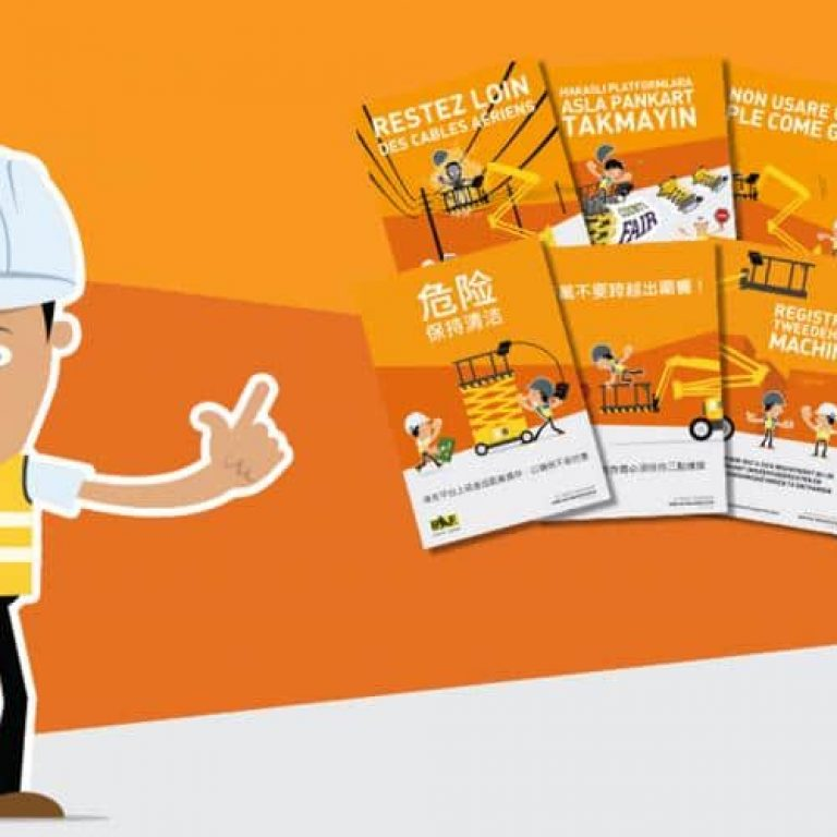 IPAF Andy Access Safety Posters