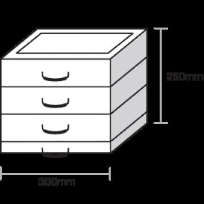 ecostak 80 kit 3 jacking blocks
