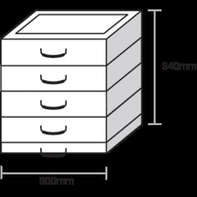 Ecostak 80 kit 4 - jacking blocks